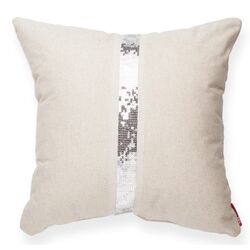 Luxury Cross Sequin Throw Pillow