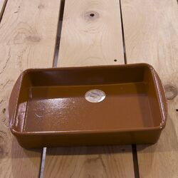 Large Terracotta Oven Tray