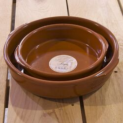 Elegant Terracotta 2 Piece Cookware Set