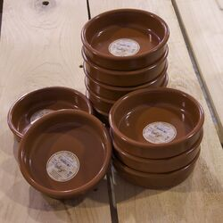 10 Piece Terracotta Casseroles Set