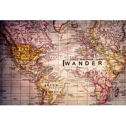 Wander Painting Prints on Canvas