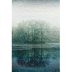 Apple Lake Painting Prints on Canvas