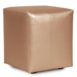 Universal Shimmer Cube Ottoman