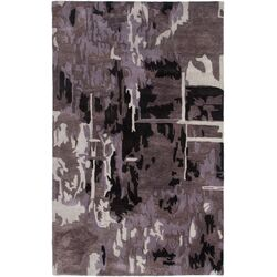 Highland Plum Abstract Rug