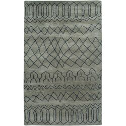 Highland Gray Abstract Rug