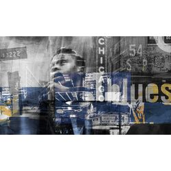 Chicago Blues 2 Graphic Art on Canvas