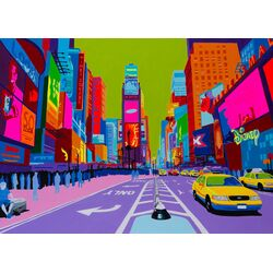Vibrant City 1 Art-for-You Graphic Art on Canvas