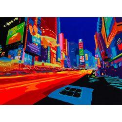 Vibrant City 2 Graphic Art Plaque