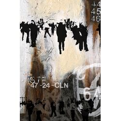 Walk on By 1 Graphic Art Plaque