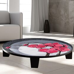Hot Orchids 1 Coffee Table