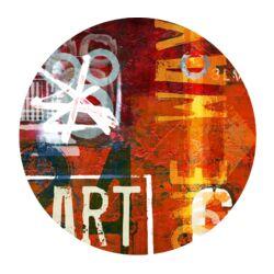 Art Street Graphic Circular Art