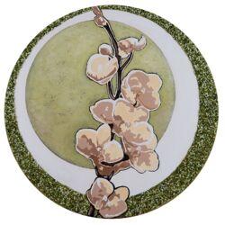 Spring Breeze Graphic Circular Art