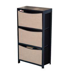 Serena 3 Bin Storage Unit