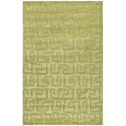 Rory Hand-Tufted Green Area Rug