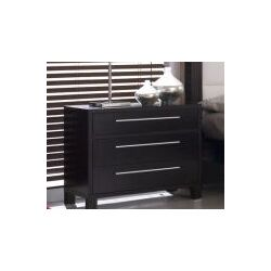 Lexington 3 Drawer Nightstand
