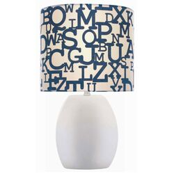Ceramic Table Lamp in White