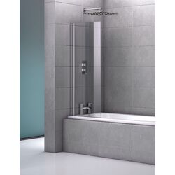Genoa Fameless Single Bath Screen