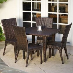 Morphis Outdoor 5 Piece Dining Set