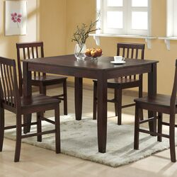 Boraam Shaker 6 Piece Dining Set Amp Reviews Wayfair