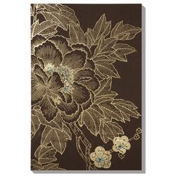 Lhasa Lotus - Choc Canvas Art - 36