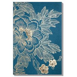 Lhasa Lotus Painting Print on Canvas