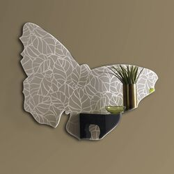 Acrylic Shaped Mirror - Butterfly Mirror - 16
