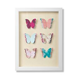 Graham and Brown Butterflies Framed Graphic Art