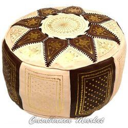 Leather Marrakech Ottoman