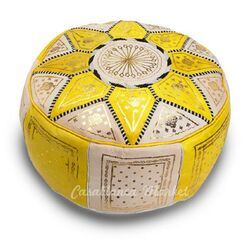 Leather Marrakech Ottoman