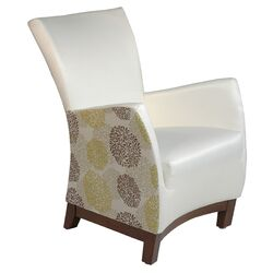 Cadee Violet Arm Chair