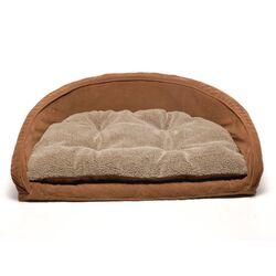 Ortho Kuddle Kup Dog Bed in Chocolate