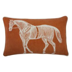 The Resort Horse Pillow Cover