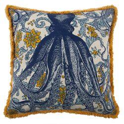 Vineyard Octopus Pillow