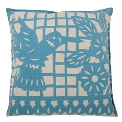 Mod Mex Accent Pillow Hummingbird