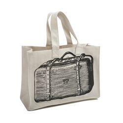Luddite Suitcase Tote Bag