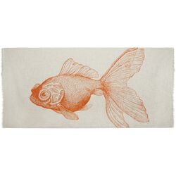 Shawls / Pareos Goldfish Scarf in Mandarin (Set of 2)