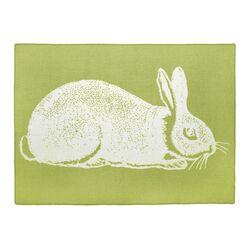 Bunny Alpaca Wool Blanket