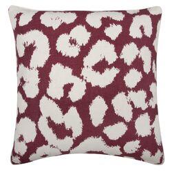 Fragments Leopard Pillow