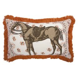 Menagerie Horse Pillow