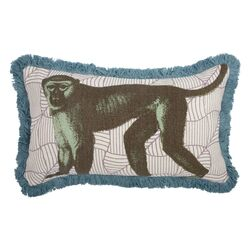 Menagerie Monkey Pillow