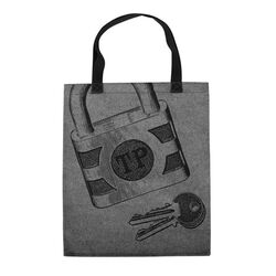 Lock Key Tote Bag