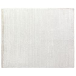 High Low White Area Rug