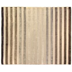Rugby Ivory/Brown Area Rug