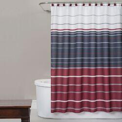 Evan Stripe Shower Curtain