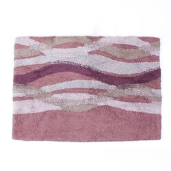 Sketchbook Waves Bath Rug