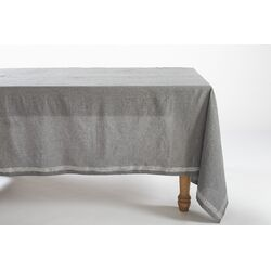 Simple Stitch Chambray Tablecloth