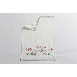 Triangle Embroidered Kitchen Towel