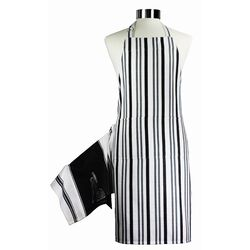 Muincotton Ultimate Magnetic Apron and Towel Set in Black