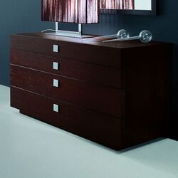 Win with Metal Handle 4 Drawer Dresser