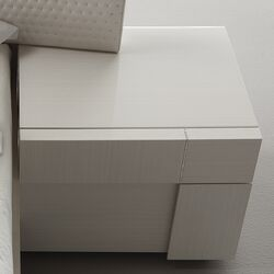 Domino Right Door Nightstand